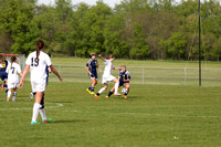 Hillsdale Girls Soccer at Quincy May 19 2014