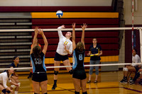 Hillsdale High Varsity Volleyball at Western 22-Aug-15