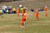 Quincy at Hillsdale Girls Soccer April 15 2013