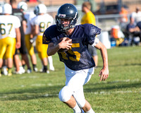 Hillsdale Varsity Football Scrimmage at Flat Rock Aug 23 2013