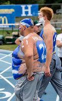 California Pa at Hillsdale College Football Sept 7 2013