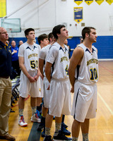 Centreville at Hillsdale High Varsity Boys Basketball March 1 2014