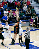 Findlay at Hillsdale College Mens Basketball Feb 27 2014