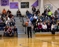Hillsdale Boys Varsity Basketball at Onsted Jan 9 2014