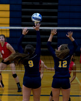 Hillsdale High Varsity Volleyball Aug 26 2014 Quad Match