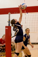 St Phillips Volleyball at Litchfield vs Hillsdale Acadamy Colts