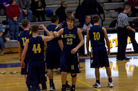 Hillsdale High Varsity Boys Basketball at Onsted Feb 7 2013