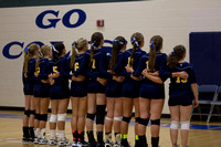 Hillsdale Academy vs Hillsdale High School Varsity Volleyball September 2 2014