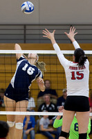 Ferris State at Hillsdale College Volleyball Nov 15 2013