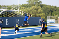 7 on 7 HHS Football with Pittsford, Homer, Concord, Adrian Madison July 22 2014