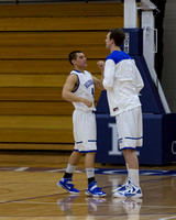 Saginaw Valley State University at Hillsdale College Mens Basketball Jan 11 2014