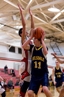 Hillsdale High JV BBALL at Vandercook Lake March 3 2015