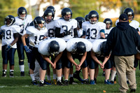 Hillsdale 7th & 8th Grade Football at Hudson Oct 22 2014