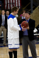Tiffin at Hillsdale College Mens Basketball Jan 16 2014