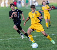 Quincy at Hillsdale Soccer Oct 7 2013