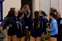 Hillsdale Academy Volleyball St Phils 7-Sep-17