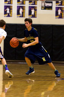 Hillsdale High BBALL at Onsted 5-Feb-16